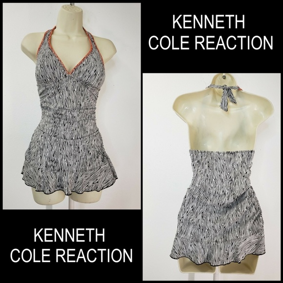 Kenneth Cole Reaction Other - Kenneth Cole Reaction Halter Swimwear Swimsuit